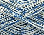 Fiber Content 90% Cotton, 10% Polyamide, Brand Ice Yarns, Blue Shades, fnt2-55126