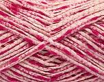 Fiber Content 90% Cotton, 10% Polyamide, Pink Shades, Brand Ice Yarns, fnt2-55127