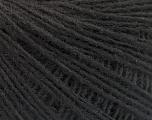 Fiber Content 50% Merino Wool, 25% Alpaca, 25% Acrylic, Brand ICE, Black, Yarn Thickness 2 Fine  Sport, Baby, fnt2-55145