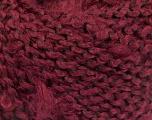 Fiber Content 100% Acrylic, Brand Ice Yarns, Burgundy, fnt2-55163