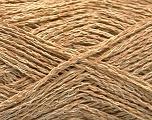 Fiber Content 35% Cotton, 35% Acrylic, 30% Viscose, Brand ICE, Cream, Cafe Latte, Yarn Thickness 2 Fine  Sport, Baby, fnt2-55186
