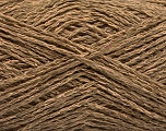 Fiber Content 35% Cotton, 35% Acrylic, 30% Viscose, Brand ICE, Camel, Yarn Thickness 2 Fine  Sport, Baby, fnt2-55187