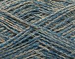 Fiber Content 35% Cotton, 35% Acrylic, 30% Viscose, Brand ICE, Camel, Blue, Yarn Thickness 2 Fine  Sport, Baby, fnt2-55192