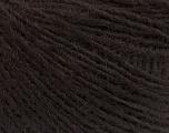 Fiber Content 50% Merino Wool, 25% Alpaca, 25% Acrylic, Brand ICE, Dark Brown, Yarn Thickness 2 Fine  Sport, Baby, fnt2-55203