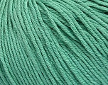 Global Organic Textile Standard (GOTS) Certified Product. CUC-TR-017 PRJ 805332/918191 Fiber Content 100% Organic Cotton, Brand Ice Yarns, Emerald Green, fnt2-55219