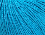 Global Organic Textile Standard (GOTS) Certified Product. CUC-TR-017 PRJ 805332/918191 Fiber Content 100% Organic Cotton, Turquoise, Brand Ice Yarns, fnt2-55221
