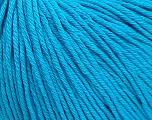 Global Organic Textile Standard (GOTS) Certified Product. CUC-TR-017 PRJ 805332/918191 Vezelgehalte 100% Biologische katoen, Turquoise, Brand Ice Yarns, fnt2-55221