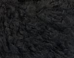 Fiber Content 45% Acrylic, 25% Wool, 20% Mohair, 10% Polyamide, Brand ICE, Black, Yarn Thickness 4 Medium  Worsted, Afghan, Aran, fnt2-55222