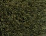 Fiberinnehåll 45% Akryl, 25% Ull, 20% Mohair, 10% Polyamid, Khaki, Brand Ice Yarns, fnt2-55230