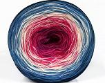 Fiber Content 50% Acrylic, 50% Cotton, Lavender, Brand ICE, Fuchsia, Cream, Blue Shades, Yarn Thickness 2 Fine  Sport, Baby, fnt2-55248