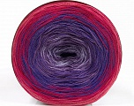 Fiber Content 50% Acrylic, 50% Cotton, Turquoise, Pink Shades, Lilac, Brand ICE, Blue, Yarn Thickness 2 Fine  Sport, Baby, fnt2-55250