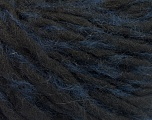 Fiber Content 50% Acrylic, 5% Polyamide, 35% Wool, 10% Mohair, Navy, Brand ICE, Black, fnt2-55334