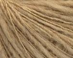Fiber Content 60% Acrylic, 40% Wool, Brand ICE, Beige, Yarn Thickness 3 Light  DK, Light, Worsted, fnt2-55404
