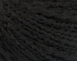 Fiber Content 50% Wool, 40% Acrylic, 10% Polyamide, Brand ICE, Black, Yarn Thickness 4 Medium  Worsted, Afghan, Aran, fnt2-55413