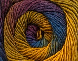 Fiber Content 50% Acrylic, 50% Wool, Maroon, Brand ICE, Green, Gold, Blue, Yarn Thickness 2 Fine  Sport, Baby, fnt2-55460