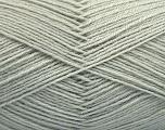 Fiber Content 75% Superwash Wool, 25% Polyamide, Light Grey, Brand Ice Yarns, Yarn Thickness 1 SuperFine  Sock, Fingering, Baby, fnt2-55466