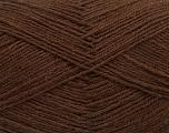 Fiber Content 75% Superwash Wool, 25% Polyamide, Brand ICE, Brown, Yarn Thickness 1 SuperFine  Sock, Fingering, Baby, fnt2-55467