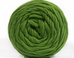 Fiber Content 100% Wool, Brand ICE, Green, Yarn Thickness 6 SuperBulky  Bulky, Roving, fnt2-55486