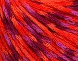 Fiber Content 60% Acrylic, 40% Wool, Purple, Orange, Lilac, Brand ICE, Fuchsia, Yarn Thickness 3 Light  DK, Light, Worsted, fnt2-55530
