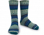 Fiber Content 75% Superwash Wool, 25% Polyamide, Brand ICE, Blue Shades, Yarn Thickness 1 SuperFine  Sock, Fingering, Baby, fnt2-55542