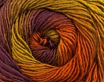 Fiber Content 50% Acrylic, 50% Wool, Olive Green, Maroon, Brand ICE, Gold, Yarn Thickness 2 Fine  Sport, Baby, fnt2-55562