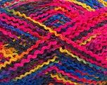 Fiber Content 60% Acrylic, 40% Wool, Rainbow, Brand ICE, fnt2-55767