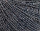 Fiber Content 50% Merino Wool, 25% Acrylic, 25% Alpaca, Brand ICE, Anthracite Black, Yarn Thickness 2 Fine  Sport, Baby, fnt2-55799