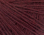 Fiber Content 80% Acrylic, 20% Viscose, Brand ICE, Burgundy, Yarn Thickness 1 SuperFine  Sock, Fingering, Baby, fnt2-55928