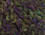 Fiber Content 55% Wool, 27% Acrylic, 18% Polyamide, Purple, Brand ICE, Green, Yarn Thickness 5 Bulky  Chunky, Craft, Rug, fnt2-55940