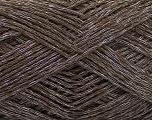 Fiber Content 44% Cotton, 44% Acrylic, 12% Polyamide, Brand ICE, Dark Brown, Yarn Thickness 2 Fine  Sport, Baby, fnt2-56009