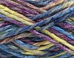 Fiber Content 6% Metallic Lurex, 50% Wool, 44% Polyamide, Purple, Light Green, Brand ICE, Blue, Yarn Thickness 5 Bulky  Chunky, Craft, Rug, fnt2-56182