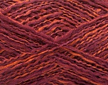 Fiber Content 44% Wool, 44% Acrylic, 12% Polyamide, Maroon, Brand ICE, Copper, Yarn Thickness 2 Fine  Sport, Baby, fnt2-56198