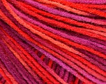 Fiber Content 50% Wool, 50% Acrylic, Salmon, Purple, Pink, Brand ICE, Yarn Thickness 3 Light  DK, Light, Worsted, fnt2-56207