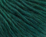 Fiber Content 50% Acrylic, 50% Wool, Brand ICE, Dark Green, Yarn Thickness 5 Bulky  Chunky, Craft, Rug, fnt2-56307