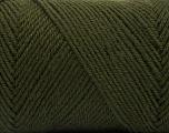 Fiber Content 50% Acrylic, 50% Wool, Brand ICE, Dark Khaki, Yarn Thickness 3 Light  DK, Light, Worsted, fnt2-56430