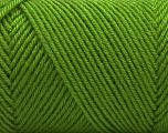 Fiber Content 50% Wool, 50% Acrylic, Light Green, Brand ICE, Yarn Thickness 3 Light  DK, Light, Worsted, fnt2-56434