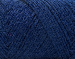Fiber Content 50% Acrylic, 50% Wool, Navy, Brand ICE, Yarn Thickness 3 Light  DK, Light, Worsted, fnt2-56435