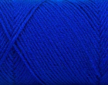 Fiber Content 50% Wool, 50% Acrylic, Brand ICE, Blue, Yarn Thickness 3 Light  DK, Light, Worsted, fnt2-56436
