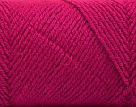Fiber Content 50% Wool, 50% Acrylic, Brand ICE, Dark Fuchsia, Yarn Thickness 3 Light  DK, Light, Worsted, fnt2-56441