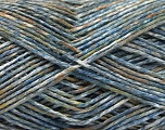 Fiber Content 100% Micro Acrylic, Brand ICE, Green, Brown, Blue Shades, Yarn Thickness 3 Light  DK, Light, Worsted, fnt2-56471