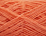 Fiber Content 100% Cotton, Light Orange, Brand ICE, Yarn Thickness 2 Fine  Sport, Baby, fnt2-56717