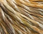 Fiber Content 50% Wool, 50% Acrylic, Brand ICE, Grey, Cream, Camel, Beige, fnt2-56874