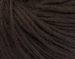 Fiber Content 50% Wool, 50% Acrylic, Brand ICE, Dark Brown, Yarn Thickness 4 Medium  Worsted, Afghan, Aran, fnt2-57002