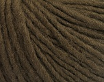 Fiber Content 50% Wool, 50% Acrylic, Brand ICE, Dark Brown, Yarn Thickness 4 Medium  Worsted, Afghan, Aran, fnt2-57006