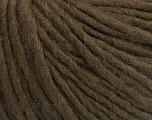 Fiber Content 50% Wool, 50% Acrylic, Brand ICE, Dark Brown, Yarn Thickness 4 Medium  Worsted, Afghan, Aran, fnt2-57006