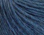 Fiber Content 50% Wool, 50% Acrylic, Jeans Blue, Brand ICE, Yarn Thickness 4 Medium  Worsted, Afghan, Aran, fnt2-57010