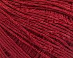 Fiber Content 100% Cotton, Brand ICE, Burgundy, Yarn Thickness 1 SuperFine  Sock, Fingering, Baby, fnt2-57154