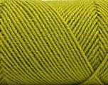 Fiber Content 50% Acrylic, 50% Wool, Brand ICE, Green, Yarn Thickness 3 Light  DK, Light, Worsted, fnt2-57175