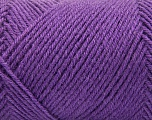 Fiber Content 50% Acrylic, 50% Wool, Lavender, Brand ICE, Yarn Thickness 3 Light  DK, Light, Worsted, fnt2-57178