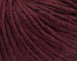 Fiber Content 50% Merino Wool, 25% Acrylic, 25% Alpaca, Maroon, Brand ICE, Yarn Thickness 4 Medium  Worsted, Afghan, Aran, fnt2-57220